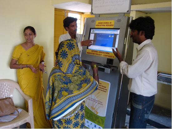 ICTs support agricultural productivity in India